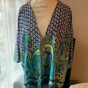Peacock Kimono by Francesca's